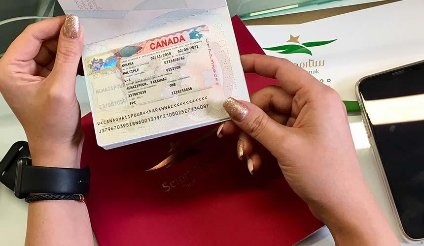 وقت انگشت نگاری ویزای کانادا