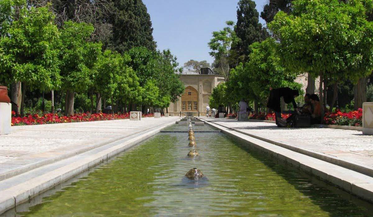 معرفی باغهای شیراز