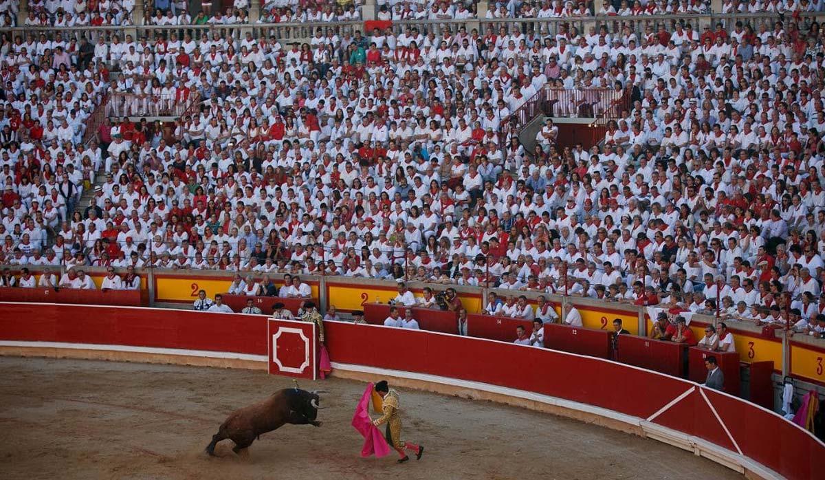 مسابقات گاوبازی اسپانیا