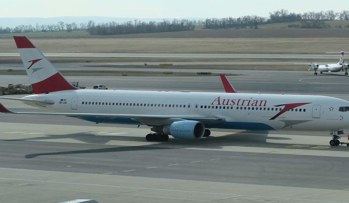 مقصد جدید هواپیمایی اتریشی