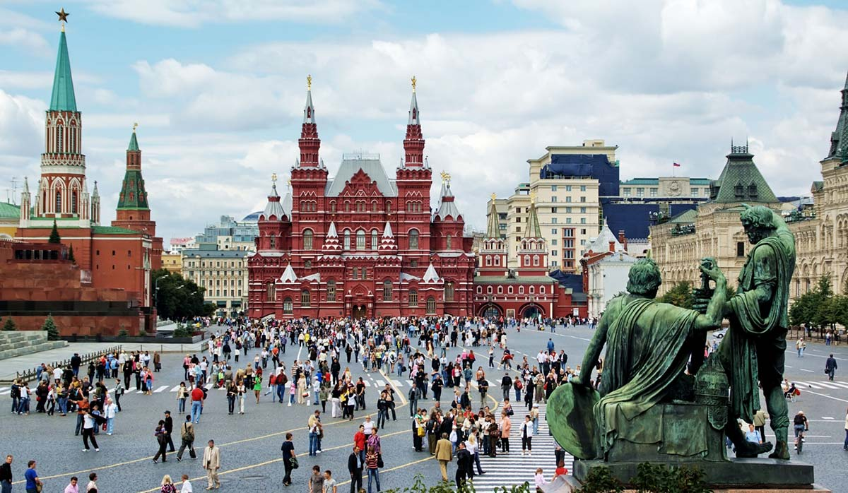جاذبههای روسیه