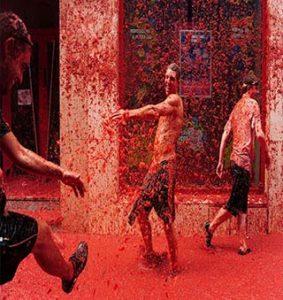 فستیوال گوجه فرنگی یا توماتینا اسپانیا