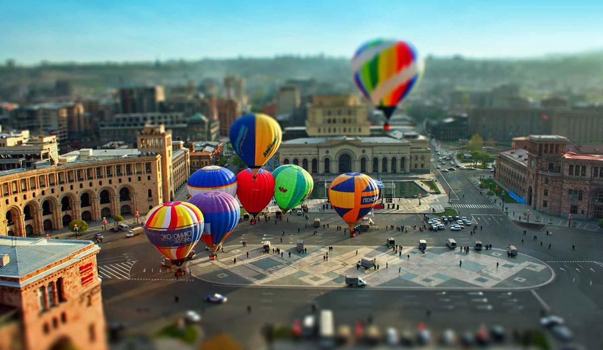 مراکز خرید ارمنستان ایروان