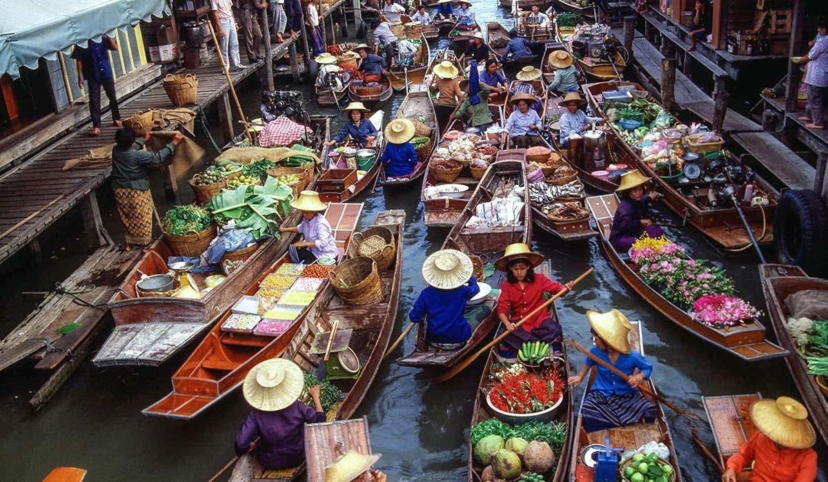 سفر به بانکوک - بازار