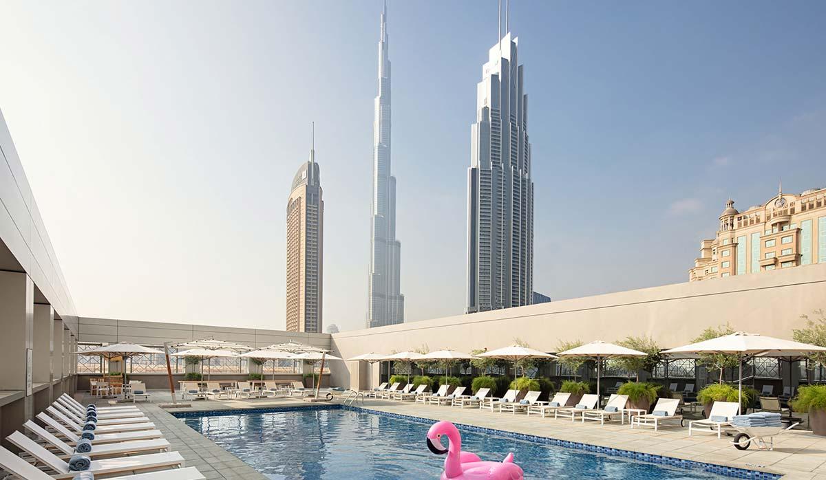 ویزای دبی - هتل