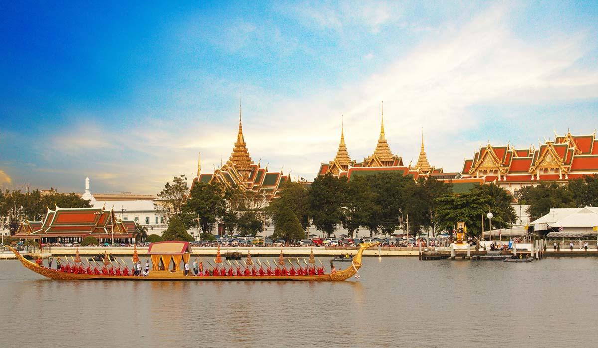 سفر به بانکوک - قایق سواری