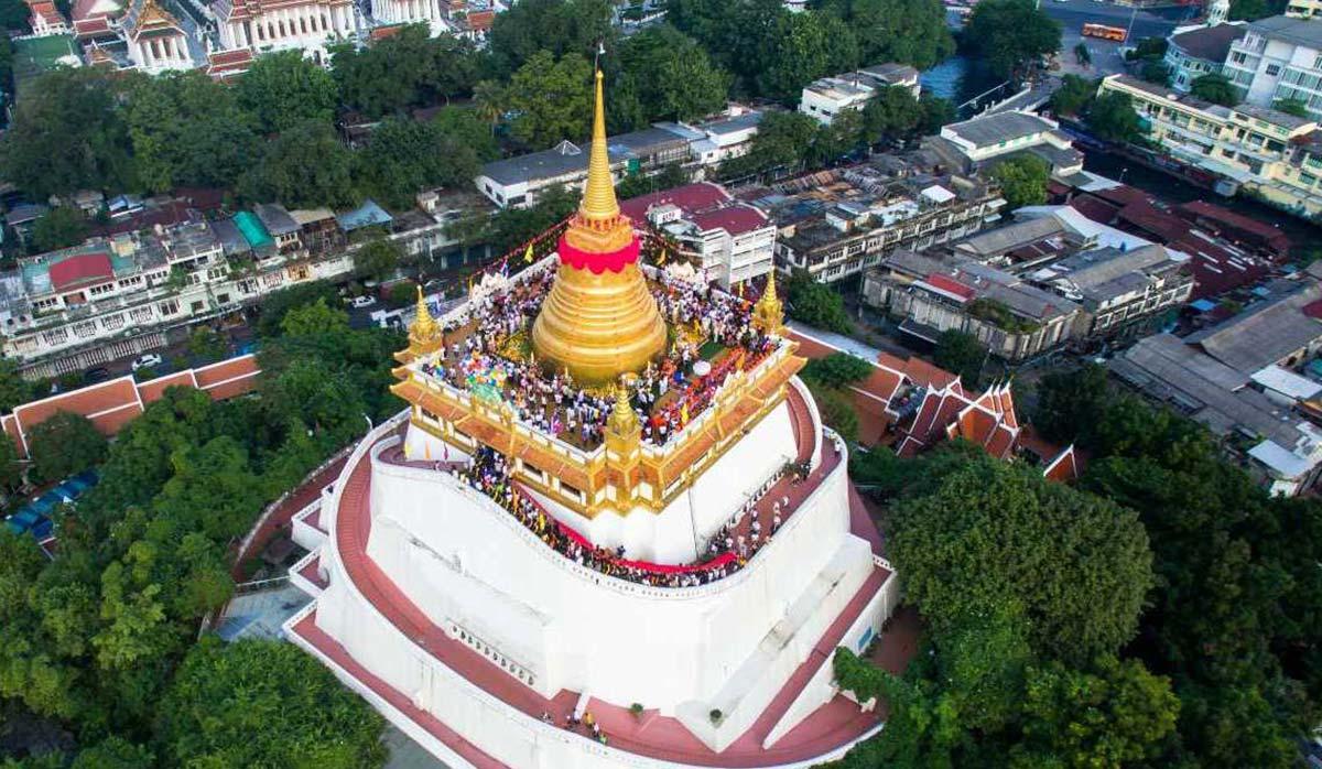 سفر به بانکوک - وات ساکت