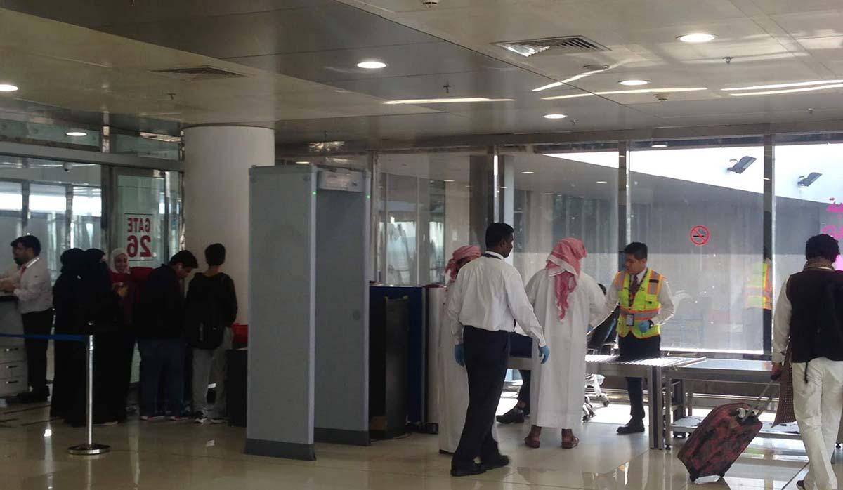 بازرسی در فرودگاه
