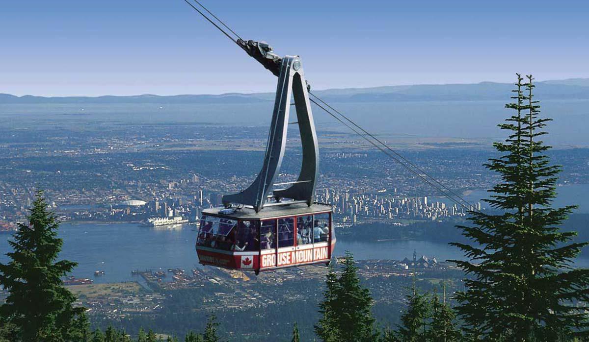 کوه گروز - ونکوور
