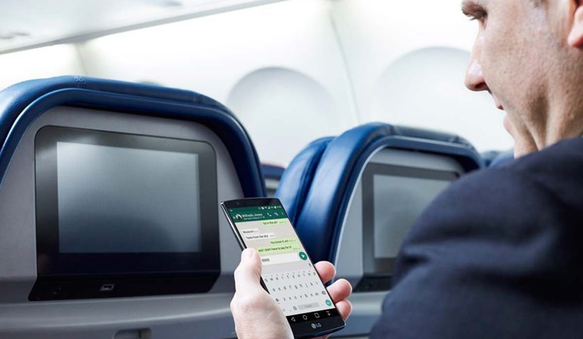 خاموش کردن موبایل در هواپیما