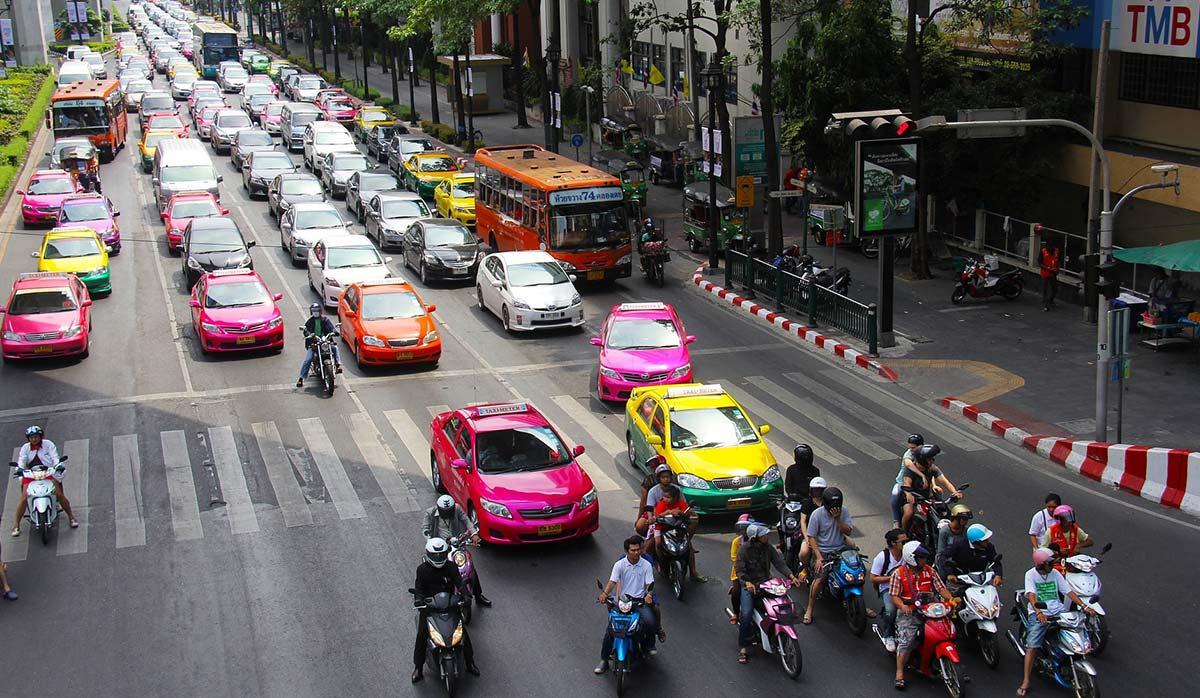 حمل و نقل - تاکسی بانکوک