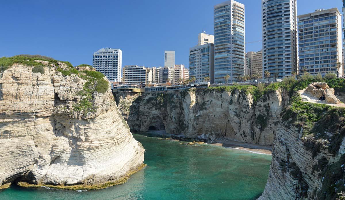 بیروت پایتخت لبنان