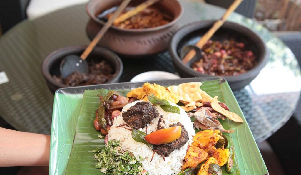 غذاهای سریلانکا