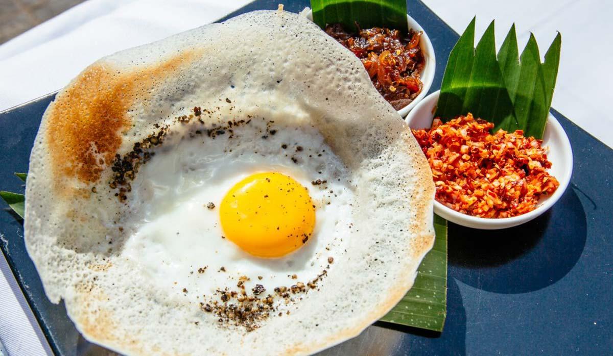 صبحانه سریلانکایی