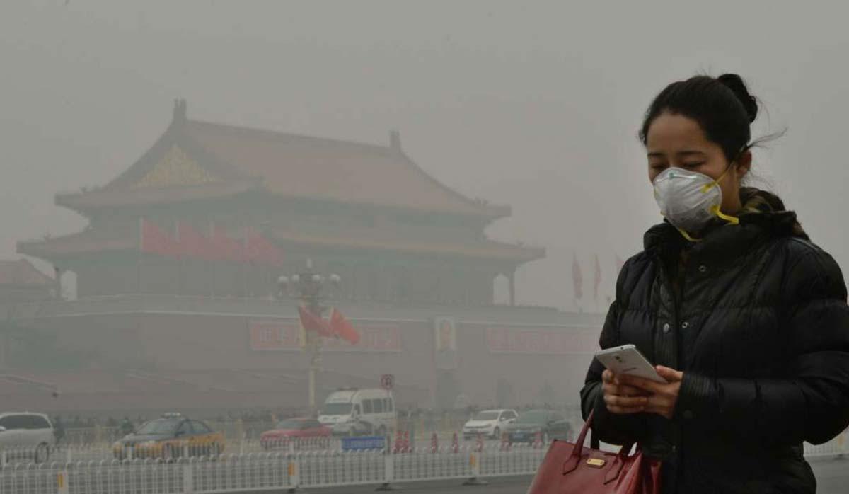 آلودگی در چین