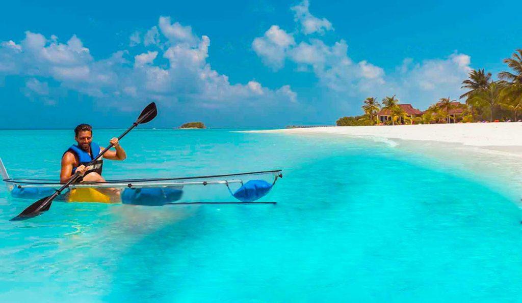 قایقسواری در مالدیو