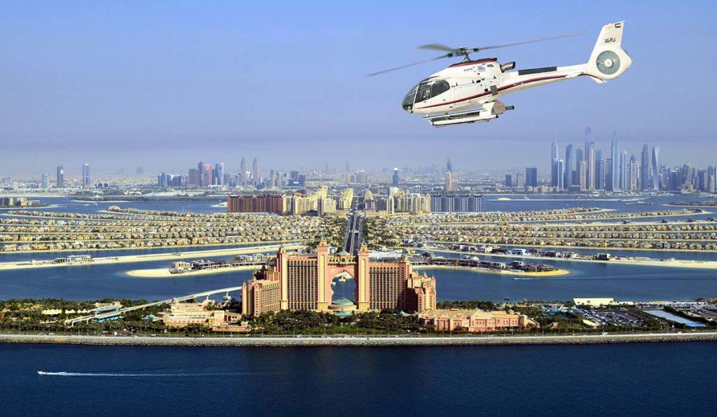 تور هلیکوپتر در دبی