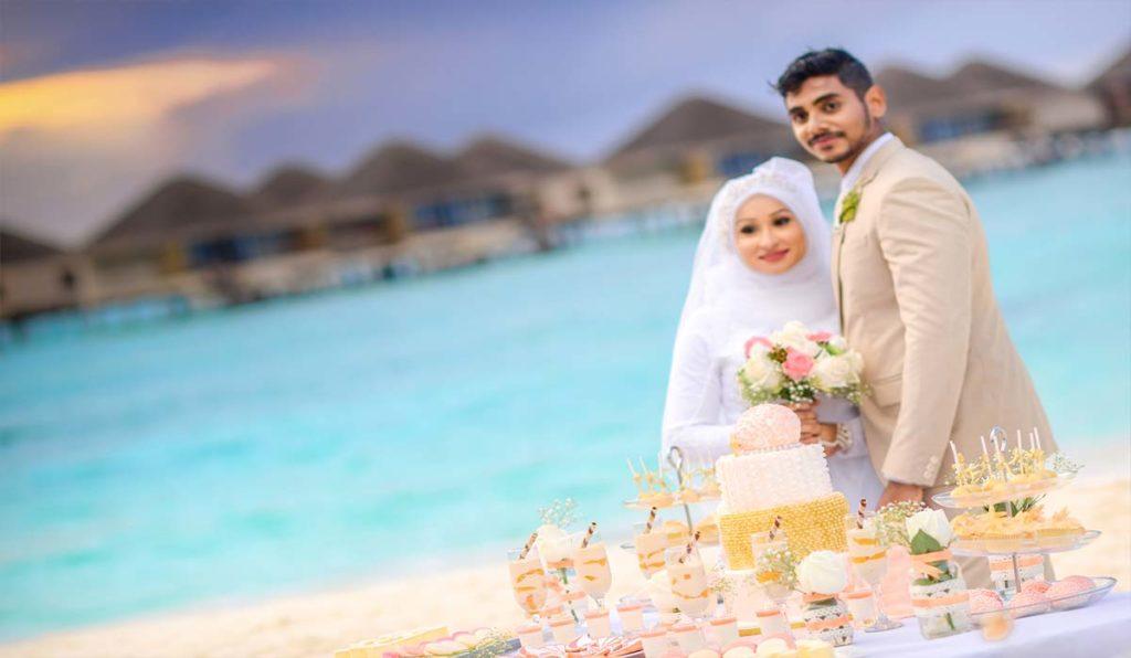 مراسم ازدواج در مالدیو