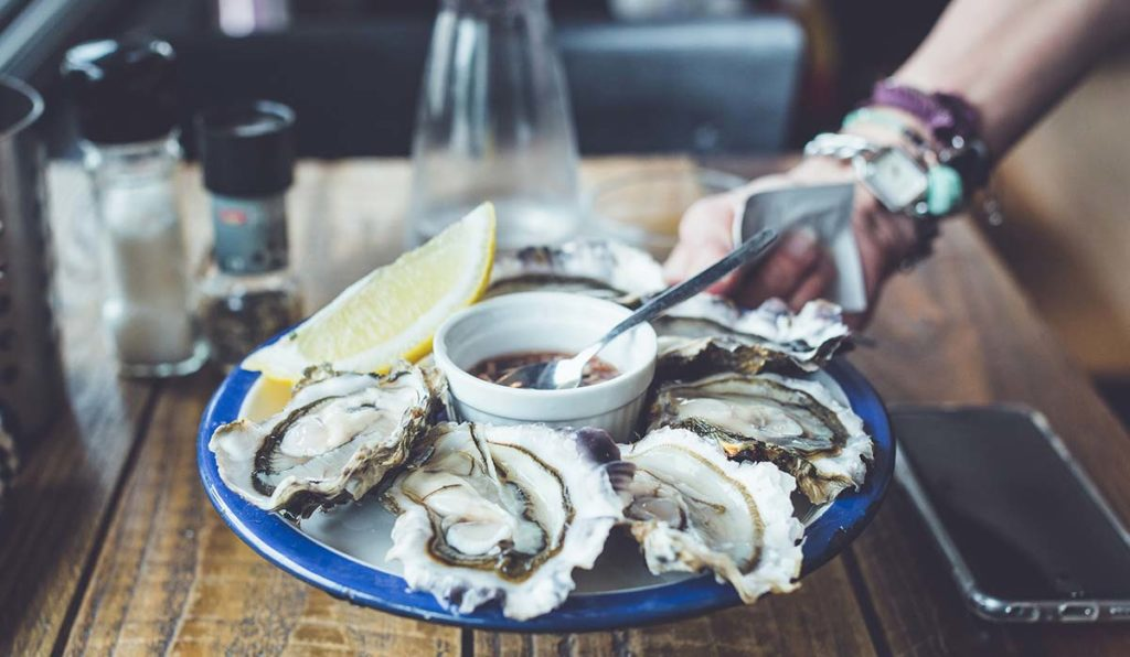 غذاهای دریایی فرانسوی