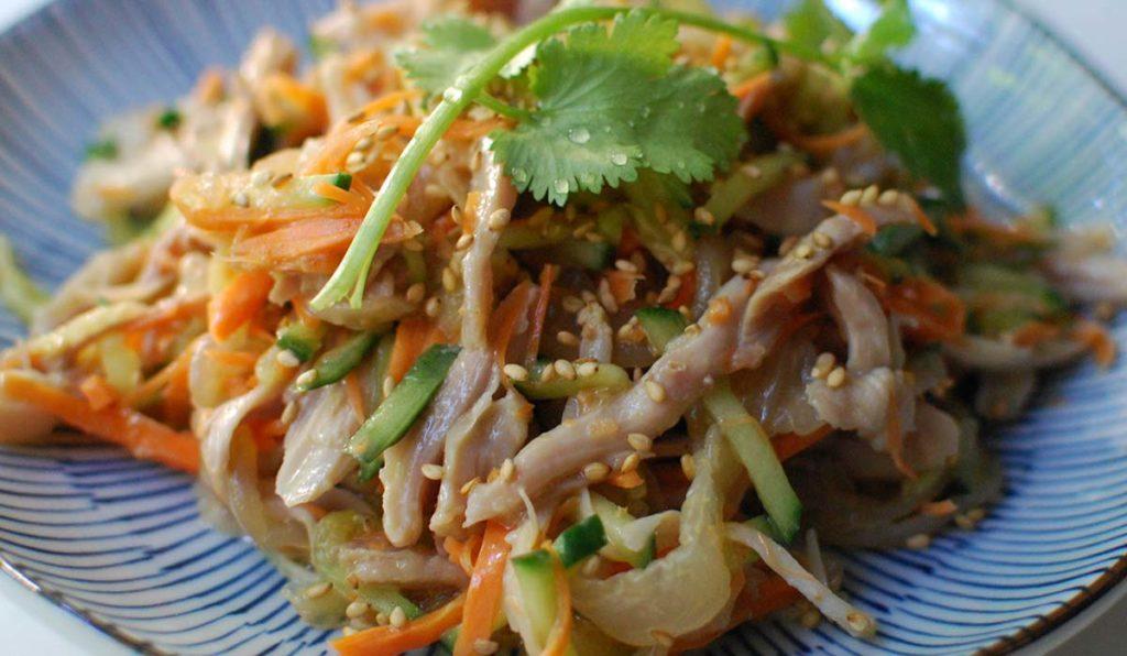 غذاهای دریایی چینی