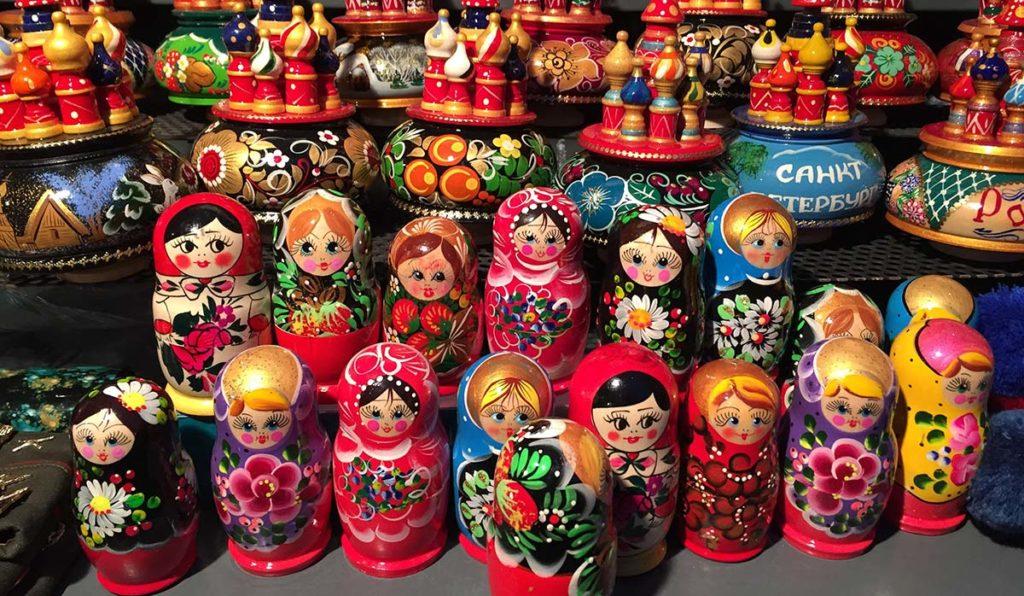 ماتروشکا سوغات روسیه