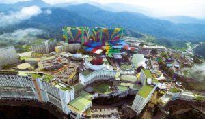ورود به سرزمین آسمانی گنتینگ؛ مالزی