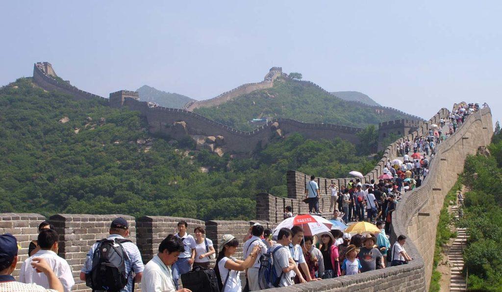 دیوار بزرگ چین پکن