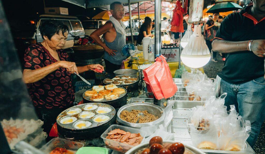 غذای خیابانی