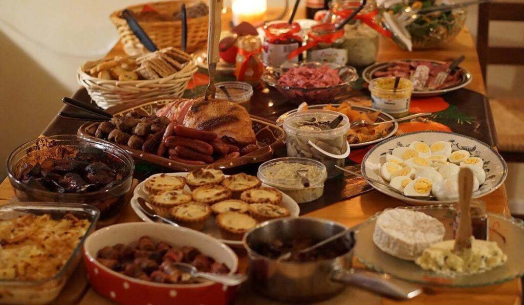 غذاهای شب کریسمس