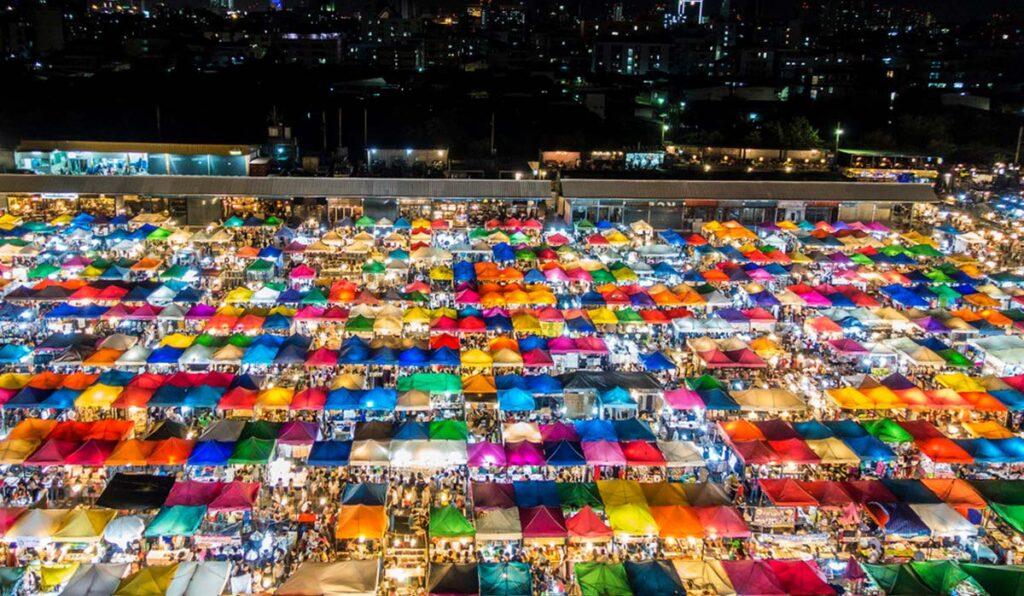 بازارچه شبانه