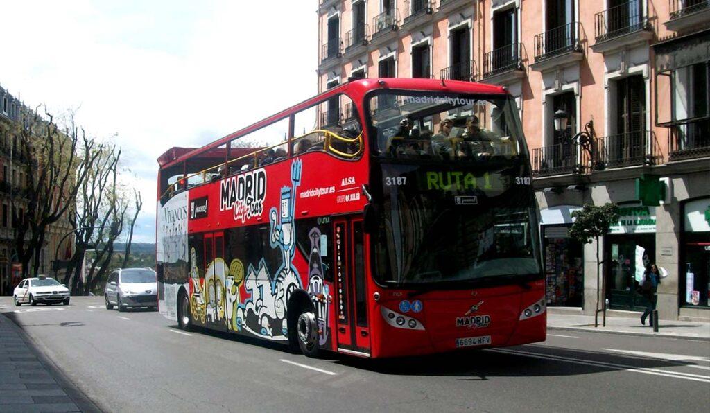 حملونقل عمومی در مادرید