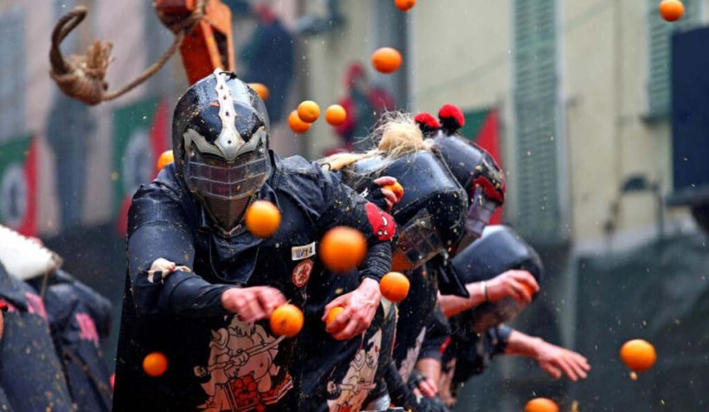فستیوال جنگ پرتقال