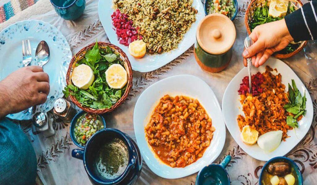 غذاهای محلی کیش