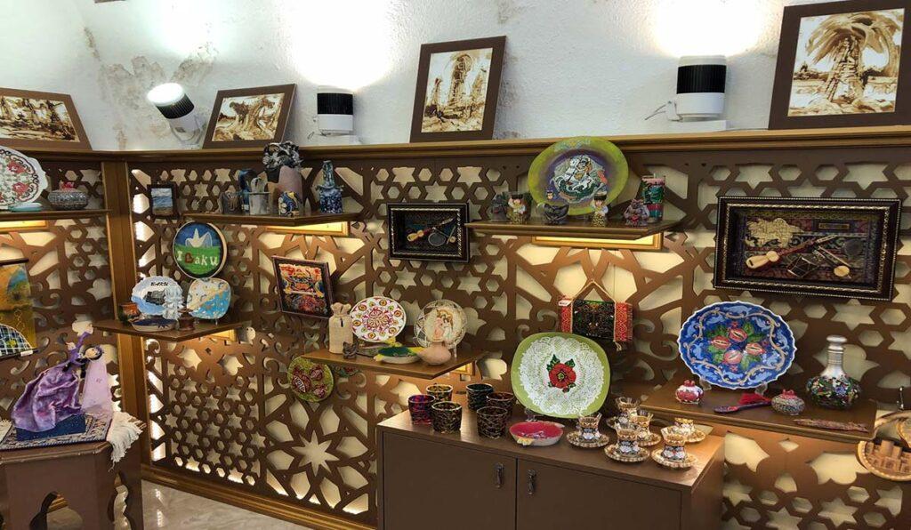 سوغاتیهای باکو