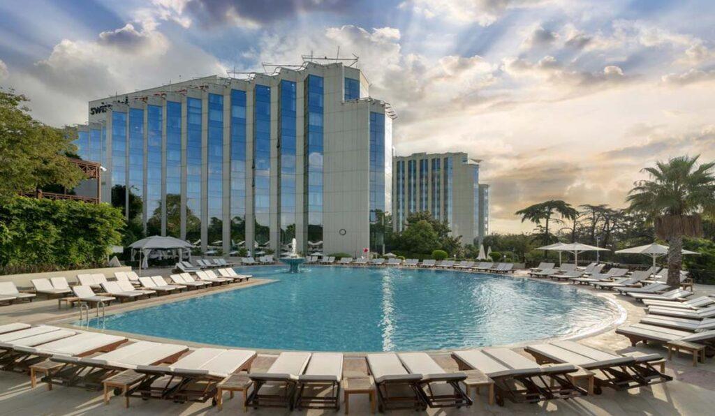هتل سوییس د بسفروس استانبول