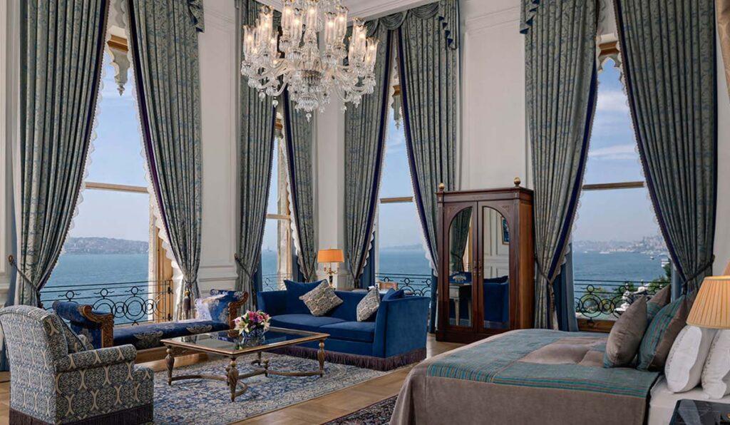 هتل چراغان پالاس کمپینیسکی استانبول