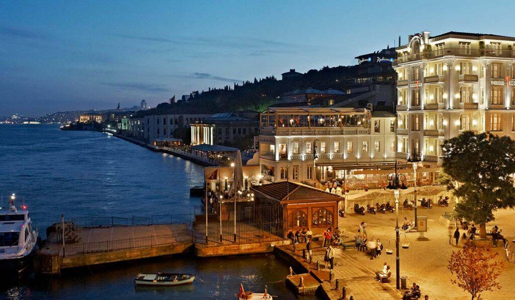 هتل فورسیزن بسفروس استانبول