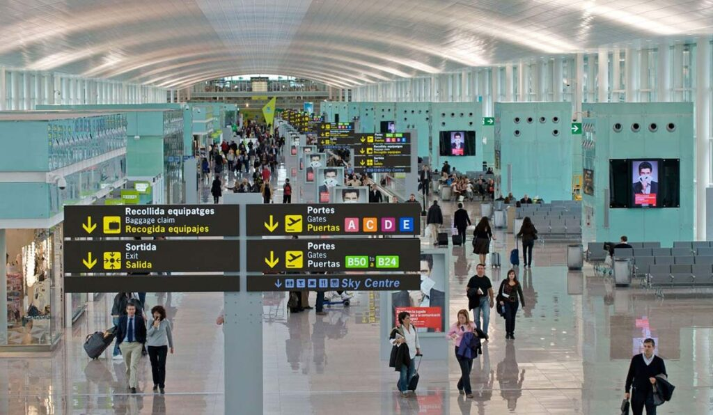 فرودگاه بارسلونا