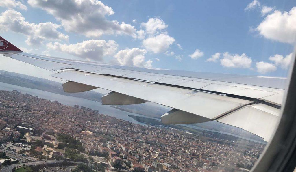 پرواز تهران استانبول