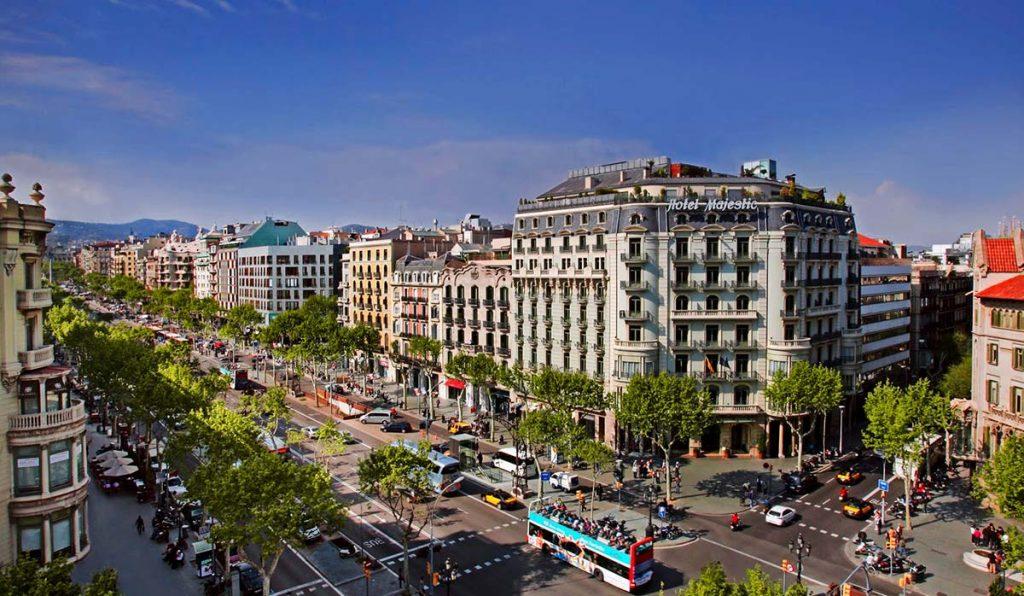 خیابانهای بارسلون