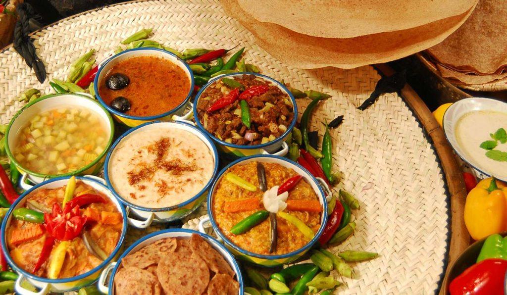 غذاهای خاورمیانهای دبی