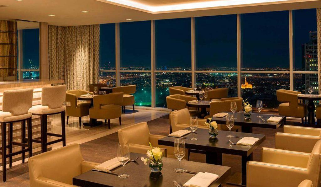 رستوران هتل شرایتون دبی