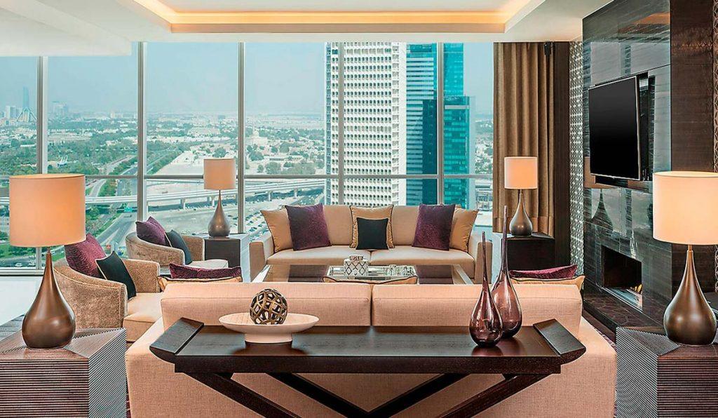 سوییتهای هتل شرایتون دبی