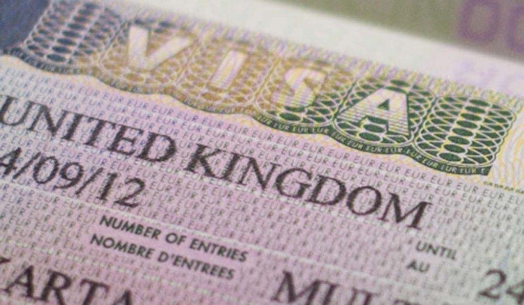 فرم آنلاین ویزای انگلیس