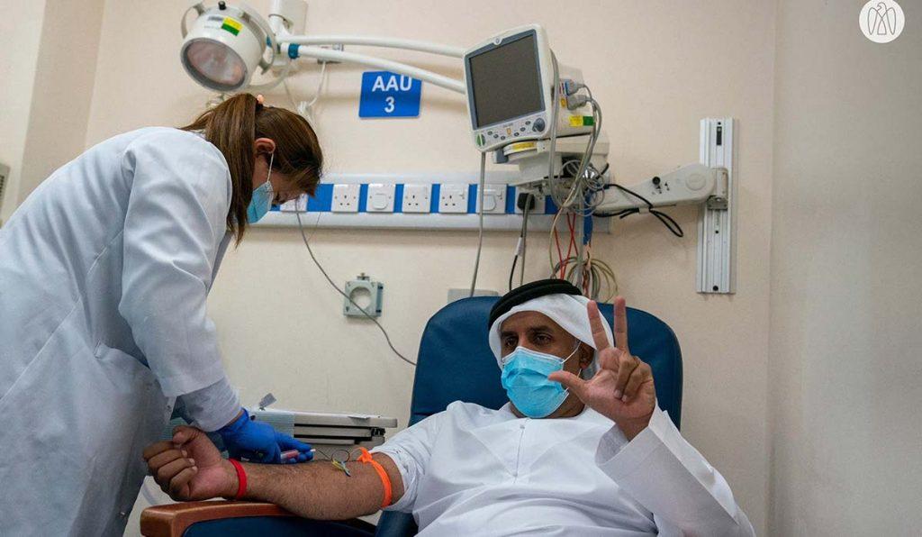 واکسن کرونا در ابوظبی
