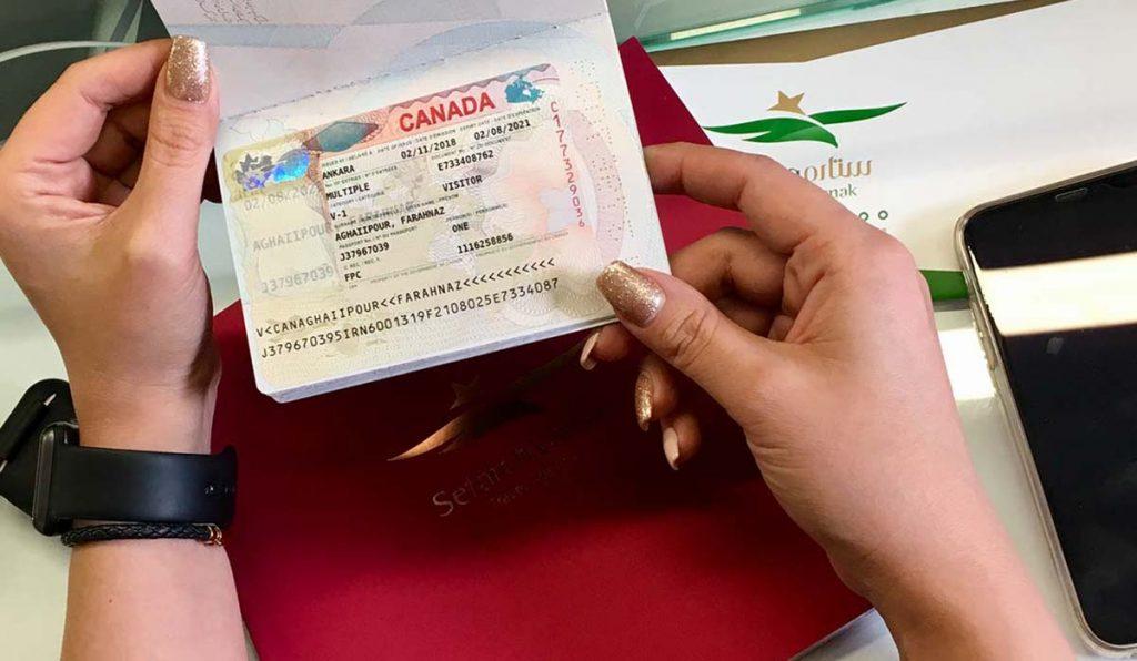 ویزای توریستی کانادا