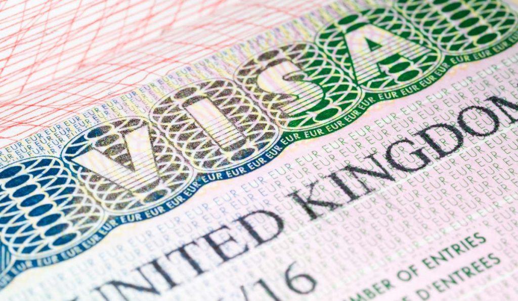 دریافت ویزای انگلیس